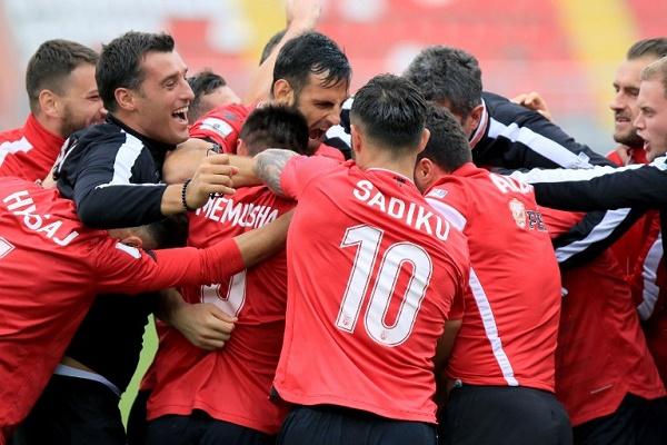 فوز ألبانيا على مقدونيا في تصفيات مونديال 2018