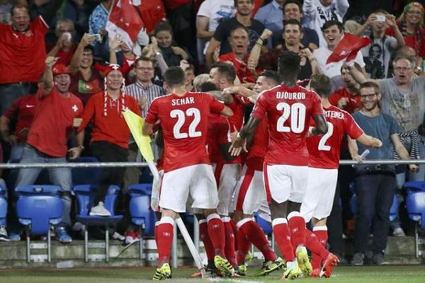 سويسرا تُسقط أبطال أوروبا في تصفيات مونديال 2018