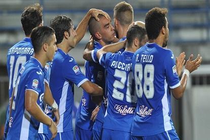 الفوز الأول لامبولي في الدوري الإيطالي
