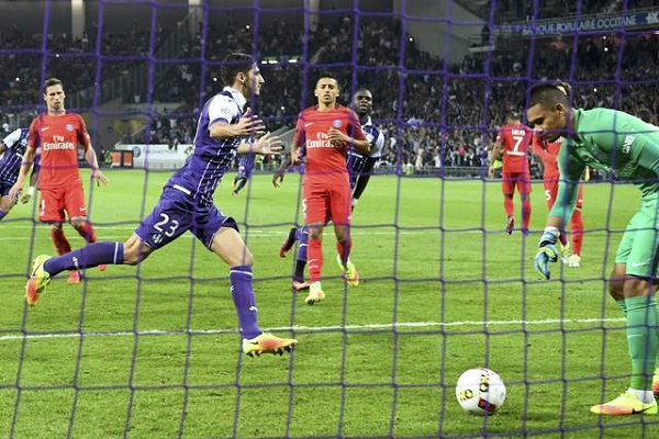 سان جيرمان يسقط على أرض تولوز في الدوري الفرنسي