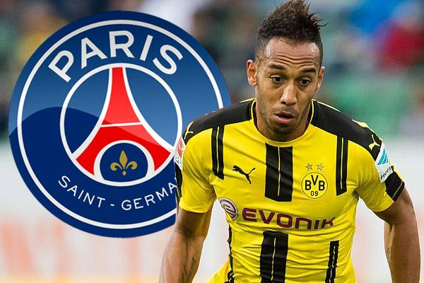 أكد أوباميانغ عن تلقيه عرضاً من نادي باريس سان جيرمان الفرنسي