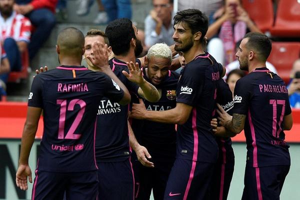 فوز كاسح لبرشلونة