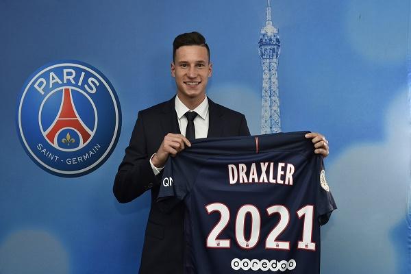 دراكسلر يوقع رسميا مع باريس سان جرمان الفرنسي
