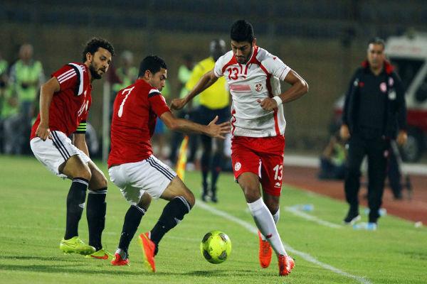 مباراة سابقة بين مصر وتونس