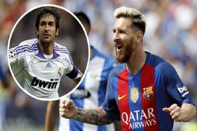 راؤول يُشيد بإنجاز ميسي الجديد ويُغضب جماهير ريال مدريد