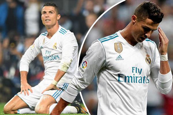 رونالدو لم يسبق أن صام عن التهديف في ثلاث مباريات متتالية