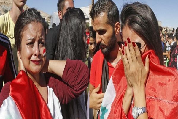 خيبة أمل ودموع في دمشق بعد الإقصاء من تصفيات المونديال