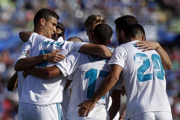 رونالدو ينقذ ريال بهدفه الاول في الموسم