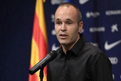 إنييستا يلمح إلى اعتزاله دوليا بعد مونديال 2018