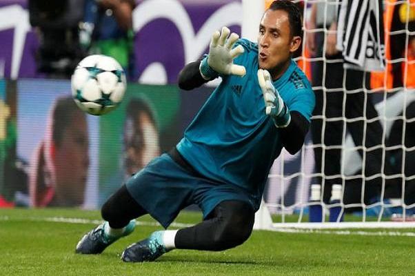 ريال مدريد يعلن إصابة الحارس نافاس بوذمة دون تحديد مدة غيابه