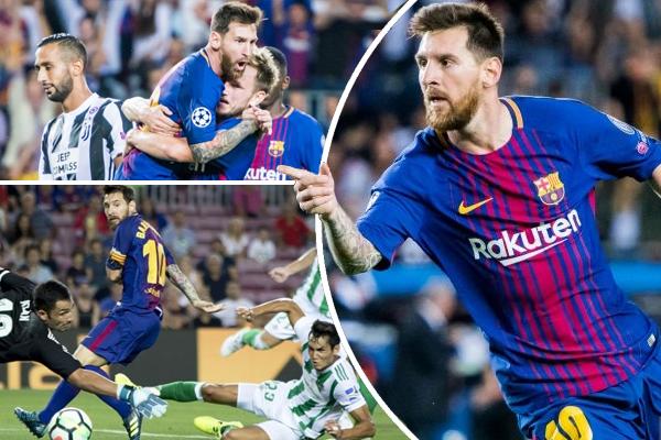 اعتلى ميسي سباق الهدافين في الدوري الإسباني بعدما سجل 11 هدفاً من أصل 23 هدفاً سجلها ناديه الكتالوني