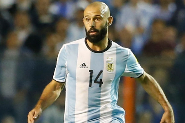 ماسكيرانو البالغ من العمر 34 عاما هو ثاني اكثر اللاعبين خوضا للمباريات الدولية مع منتخب بلاده