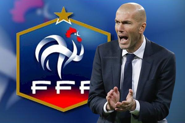 مسؤولي الكرة الفرنسية يفكرون في احداث التغيير على رأس الجهاز الفني للمنتخب بالتعاقد مع زيدان