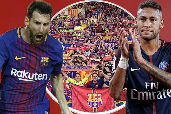رحيل نيمار سجل حافزاً قوياً لميسي ليبذل جهداً مضاعفاً لصالح برشلونة