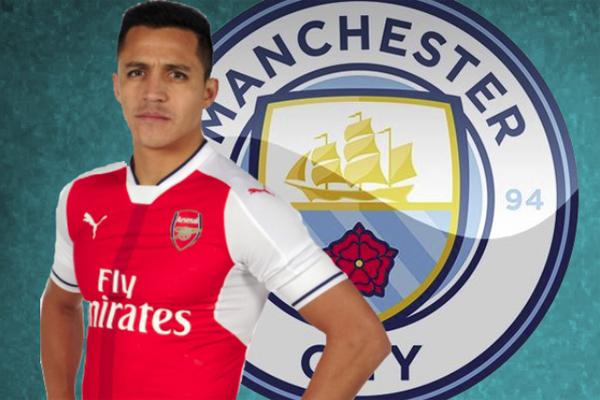 مانشستر سيتي مستعد لدفع مبلغ 22 مليون يورو لشراء الست أشهر المتبقية من عقد أليكسيس سانشيز مع أرسنال