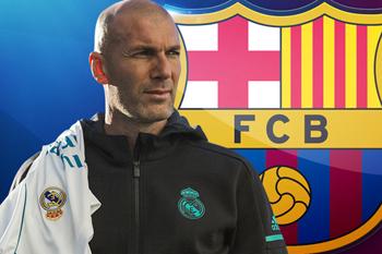 زيدان يؤكد : لن أدرب برشلونة أبداً