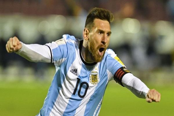 ميسي يقود الأرجنتين إلى مونديال روسيا