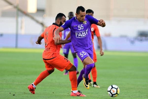 العين يشارك الوصل في صدارة الدوري الإماراتي