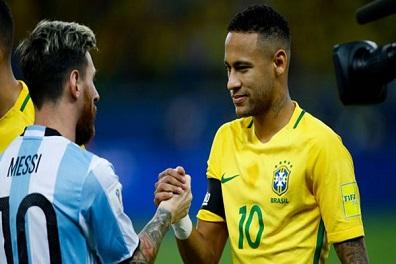 نيمار سعيد بتأهل الأرجنتين من أجل