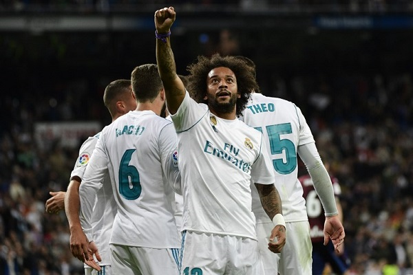 فوز رابع تواليا لريال مدريد