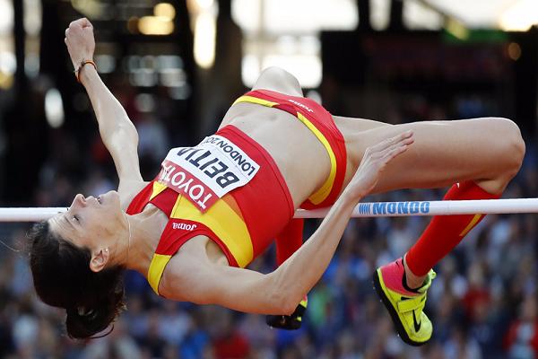 الاسبانية بيثيا بطلة ريو 2016 تعتزل الوثب العالي