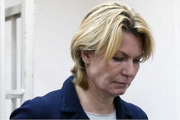 الرئيسة السابقة للاتحاد الروسي لكرة السلة يوليا انيكييفا