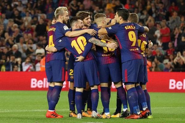 فوز متوقع لبرشلونة المتصدر على ملقة