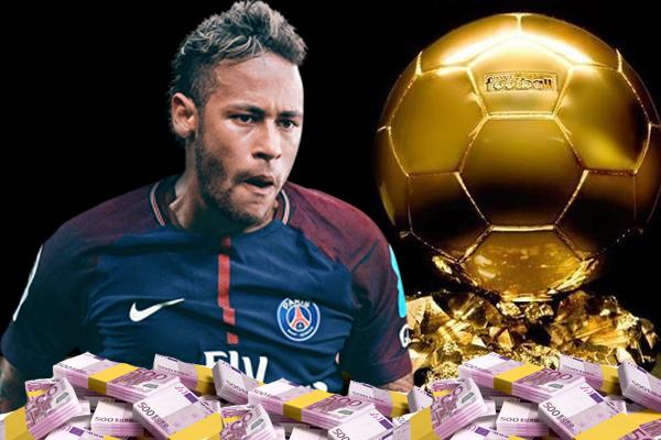 نيمار دا سيلفا سيحصل على ثلاثة ملايين يورو في حال نجح في الحصول على جائزة