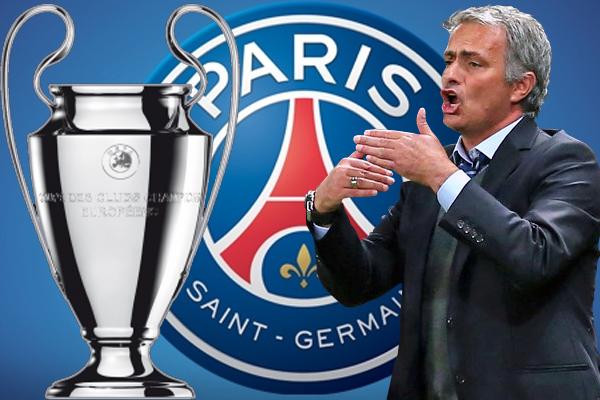 مورينيو قد يقبل بعرض باريس سان جيرمان، في حال شعوره بقدرته على التتويج بلقب دوري أبطال أوروبا