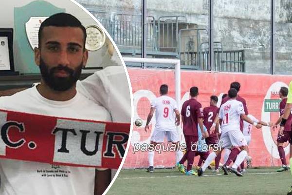 فرض الاتحاد الايطالي عقوبة الايقاف خمس مباريات على أحد لاعبي الدرجة الرابعة لتبوله على أرض الملعب