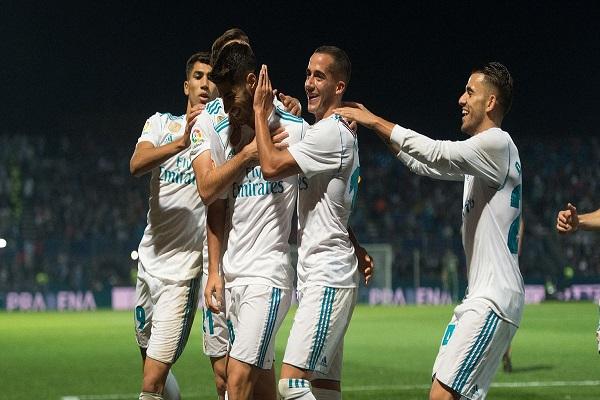 ريال مدريد يهزم فوينلابرادا ويضع قدما في ثمن نهائي كأس إسبانيا