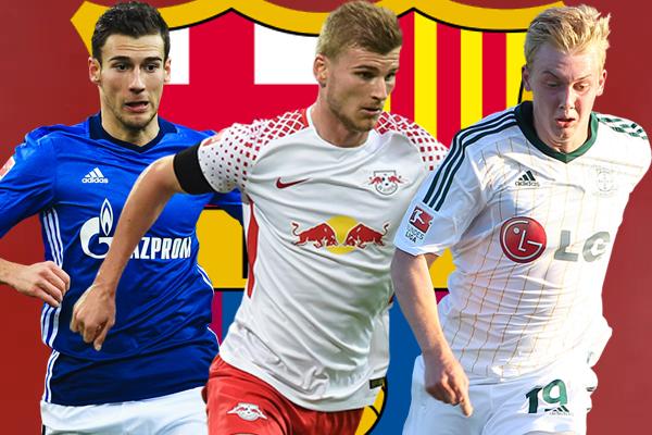 مواهب الدوري الألماني ضمن اهتمامات برشلونة