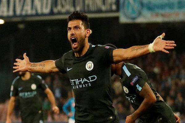 أغويرو أفضل هداف في تاريخ مانشستر سيتي
