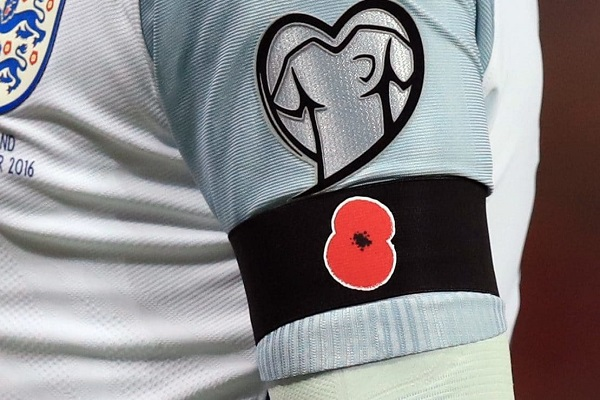 لاعبو إنكلترا وألمانيا سيضعون شعار زهرة الخشخاش في ودية ويمبلي