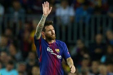 ميسي يخوض مباراته الـ 600 مع برشلونة