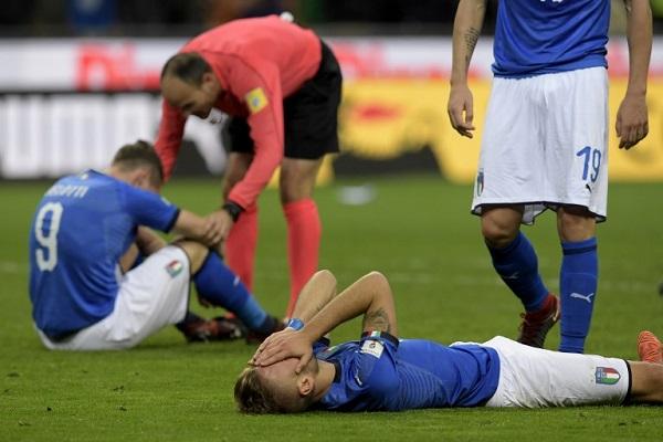 السويد تتأهل للنهائيات وإيطاليا تغيب للمرة الأولى منذ 60 عاما