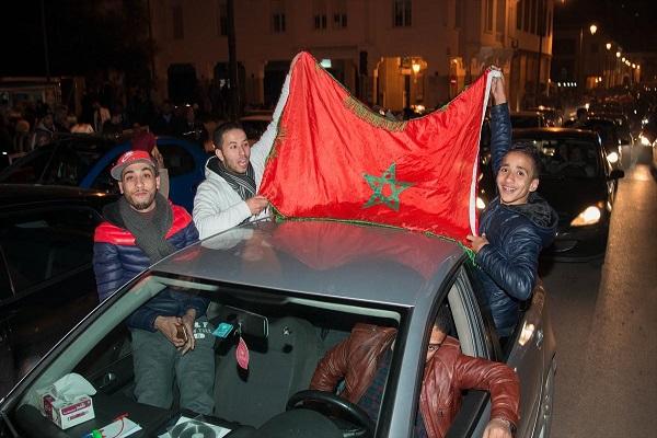مغاربة فرحون بتأهل منتخبهم