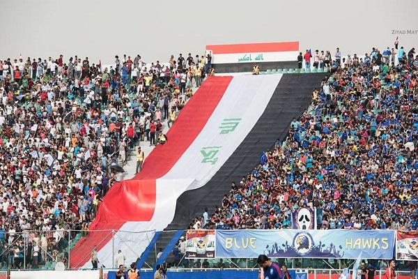 العراق يطرح مسألة الحظر الدولي مع رئيس الاتحاد الآسيوي