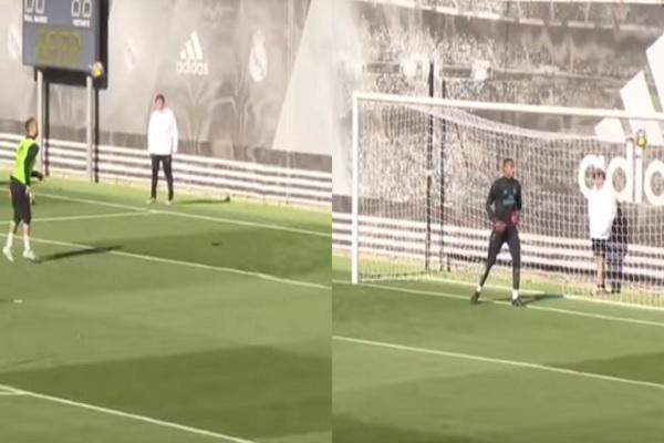 رونالدو يحرز هدفا بـ