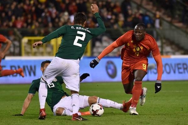 تعادل مثير بين بلجيكا والمكسيك