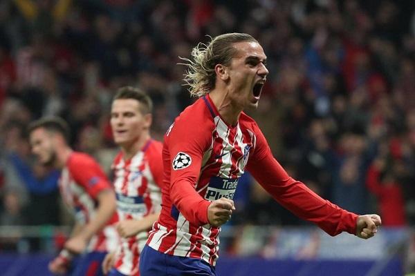 غريزمان يطمئن مشجعي أتلتكيو مدريد: