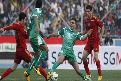 تعادل إيجابي بين العراق وسوريا في ملعب كربلاء الدولي