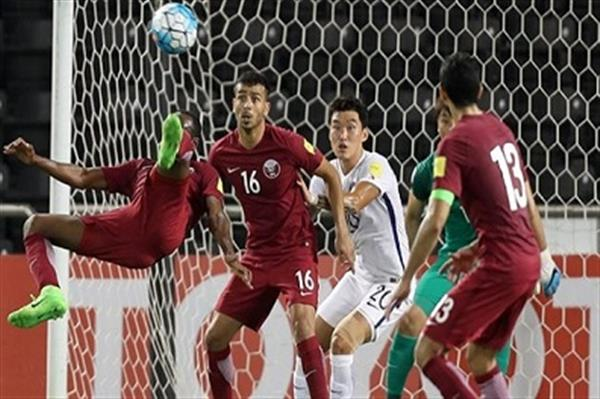 خسارة قطر أمام تشيكيا في مباراة ودية
