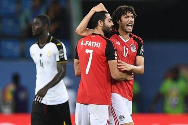 تعادل مصر وغانا