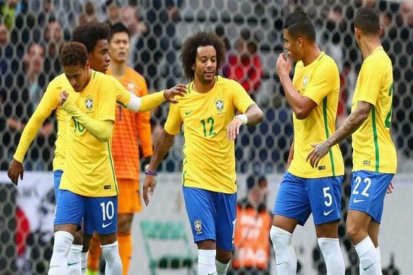 فوز سهل للبرازيل على اليابان في مباراة ودية