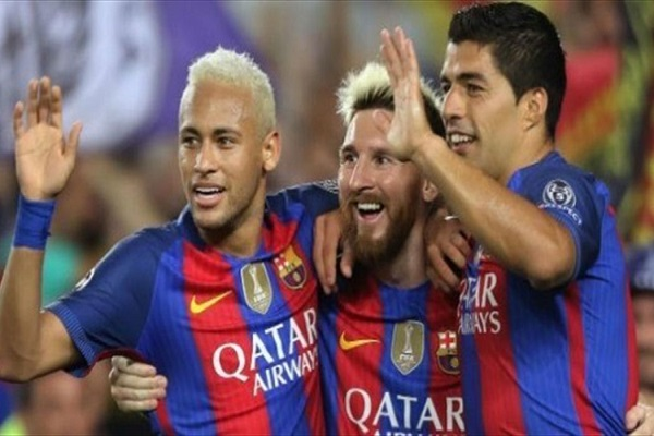 ميسي وسواريز مصدومان من خطة انتقال نيمار إلى ريال مدريد