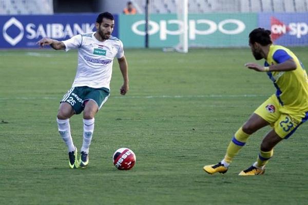 المصري البورسعيدي يقفز إلى صدارة الدوري المصري مؤقتا