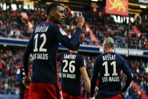 رودلان ينقذ كاين من الخسارة في الدوري الفرنسي