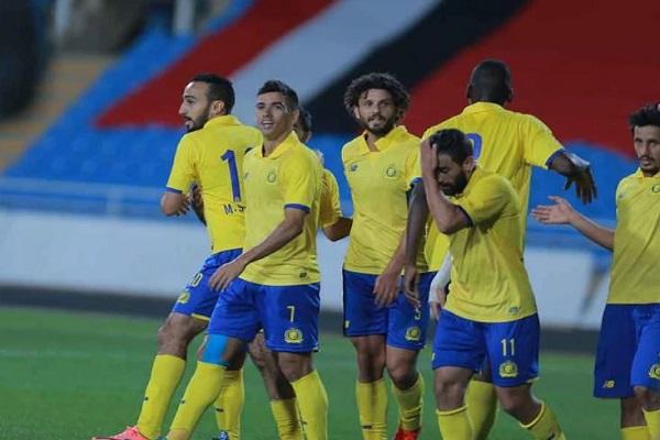 النصر يكتسح الرائد وقمة الاتحاد والشباب تنتهي بالتعادل