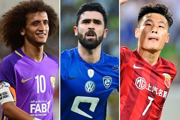حل الاماراتي عمر عبد الرحمن والسوري عمر خريبين، ضمن المرشحين الثلاثة لنيل جائزة أفضل لاعب لسنة 2017